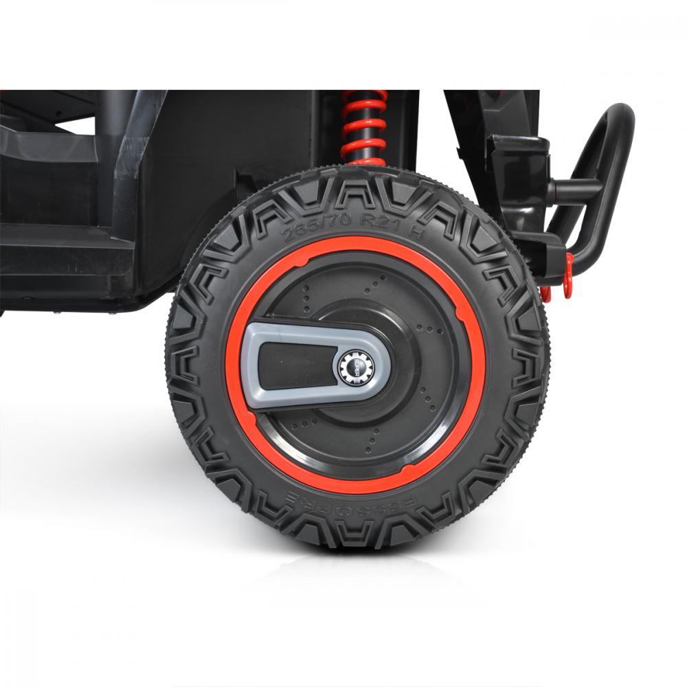 Masinuta electrica 4x4 cu telecomanda Moni Beast Red