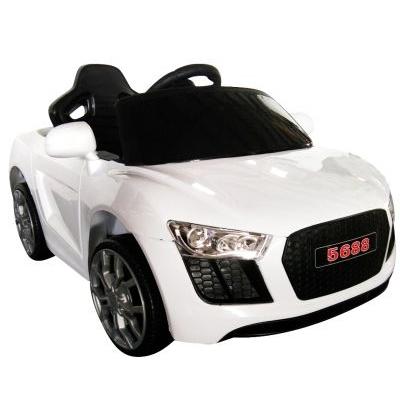 Masinuta electrica cu telecomanda Cabrio AA4 R-Sport alb