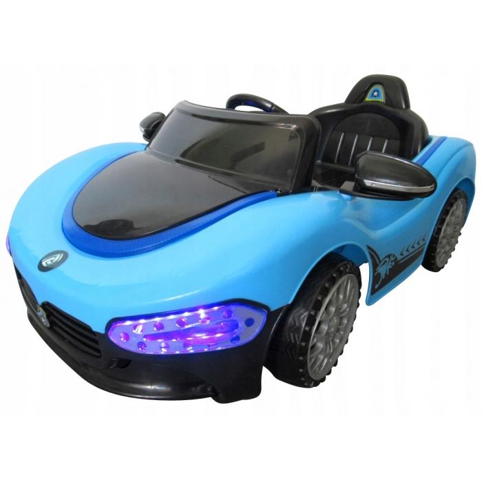 Masinuta electrica cu telecomanda cu baterii Cabrio MA R-Sport albastru
