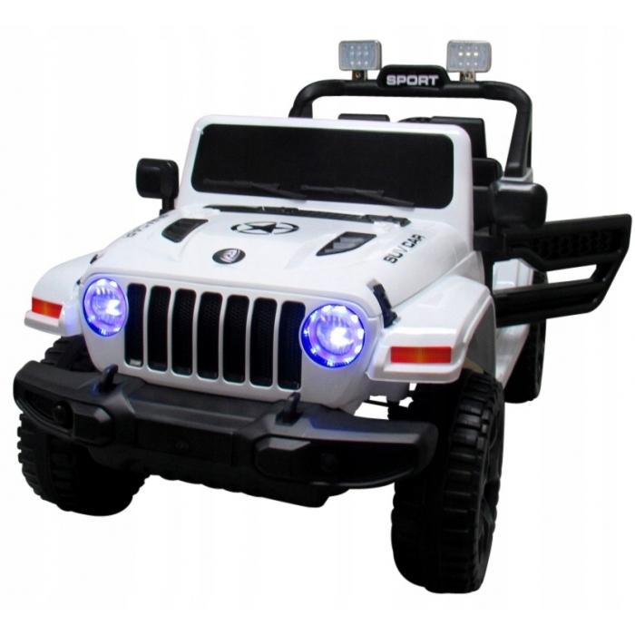 Masinuta electrica cu telecomanda si functie de balansare Jeep X10 TS-159 R-Sport alb - 2