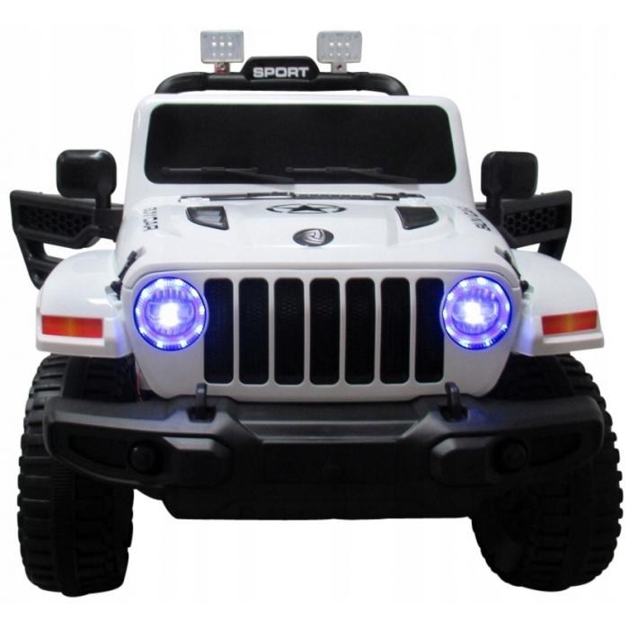 Masinuta electrica cu telecomanda si functie de balansare Jeep X10 TS-159 R-Sport alb - 1