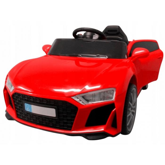 Masinuta electrica cu telecomanda si functie de balansare Cabrio AA5 R-Sport rosu