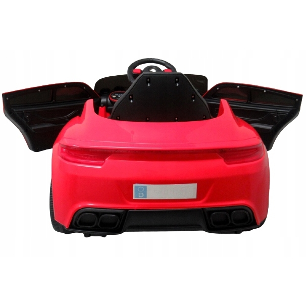 Masinuta electrica cu telecomanda si functie de balansare Cabrio AA5 R-Sport rosu - 2