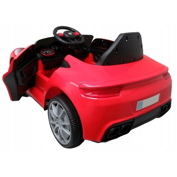 Masinuta electrica cu telecomanda si functie de balansare Cabrio AA5 R-Sport rosu - 3