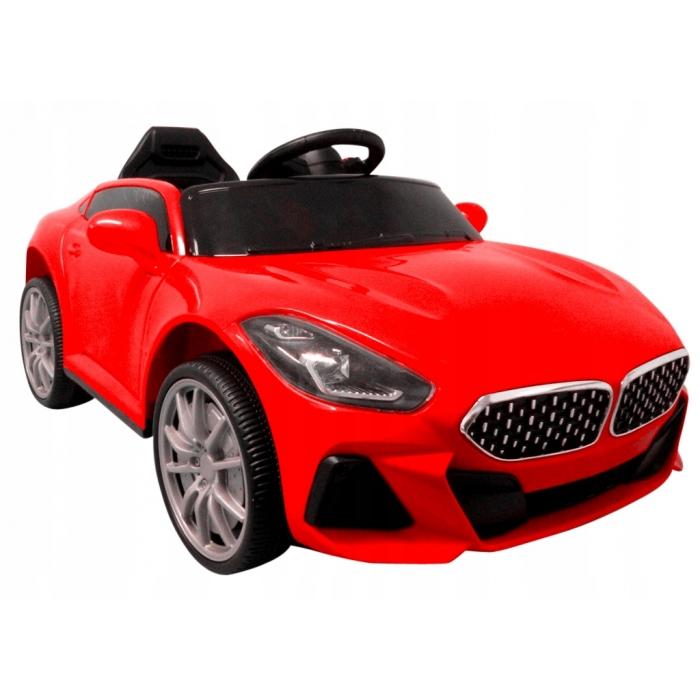 Masinuta electrica cu telecomanda si functie de balansare Cabrio AA6 R-Sport rosu - 1