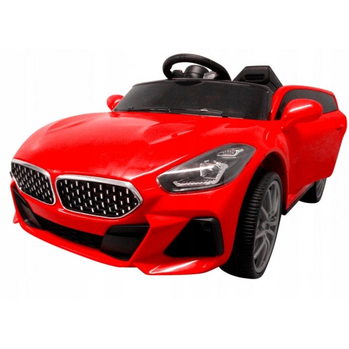 Masinuta electrica cu telecomanda si functie de balansare Cabrio AA6 R-Sport rosu