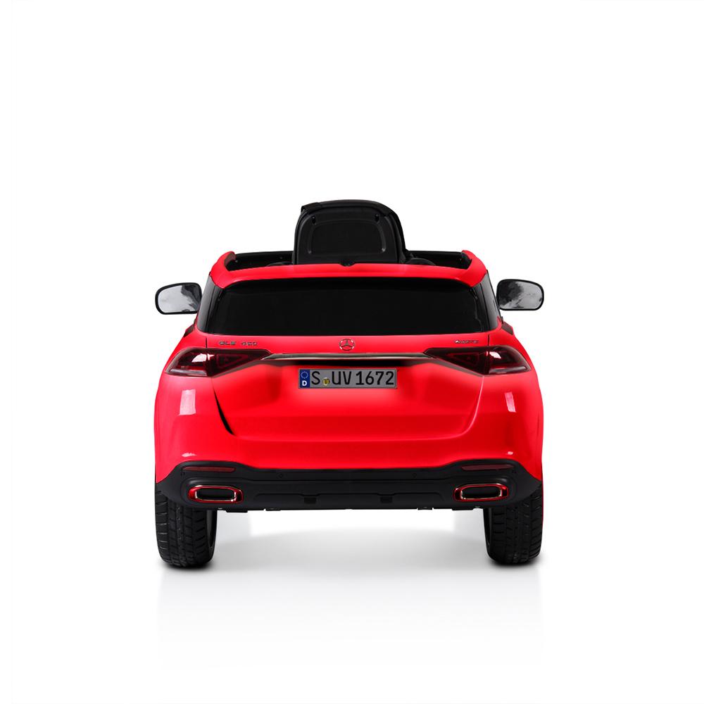 Masinuta electrica cu telecomanda si roti EVA Mercedes Benz GLE450 Red
