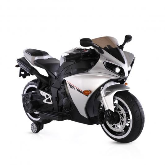 Motocicleta electrica cu roti ajutatoare Aspen Silver