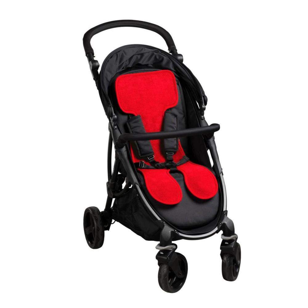 Protectie antitranspiratie pentru carucioare AirCuddle Cool Seat Stroller Red CS-S-RED