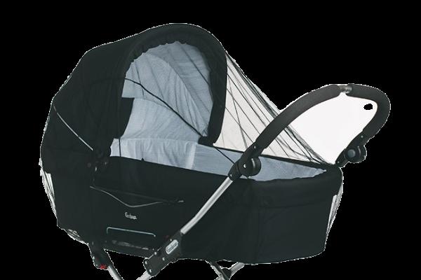 Protectie insecte pentru carucior neagra BabyDan