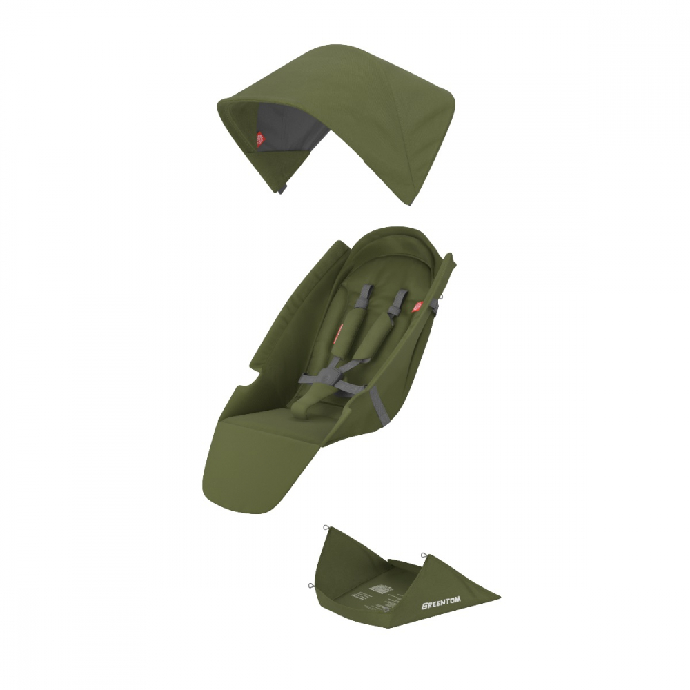 Set materiale textile Greentom Classic Olive - 3