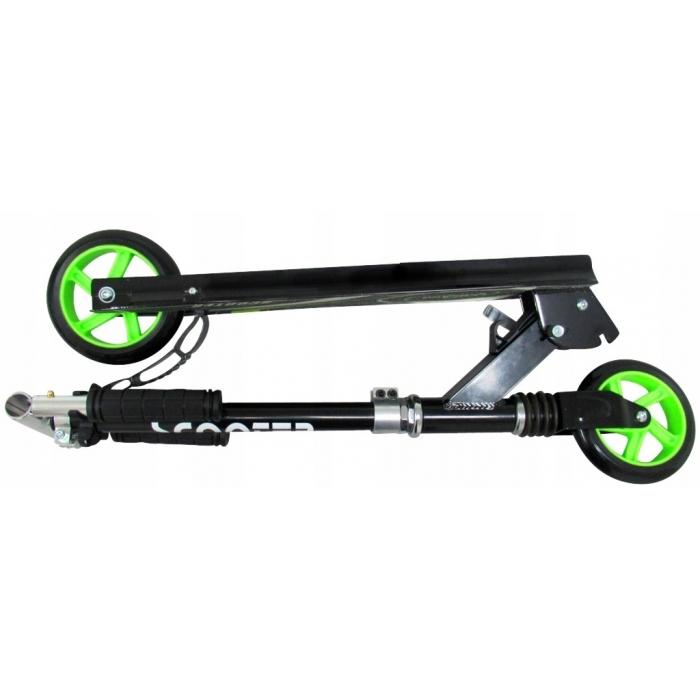 Trotineta pliabila cu roti de 145 mm R-Sport H7 negru-verde - 1