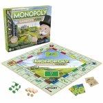 Joc de societate Monopoly go green limba romana