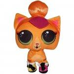 Jucarie din plus Neon Kitty L.O.L. Surprise! Pets 24 cm