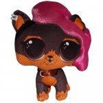Jucarie din plus Ruff Rocker L.O.L. Surprise! Pets 24 cm