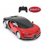 Masinuta cu telecomanda Bugatti Chiron rosu scara 1:24