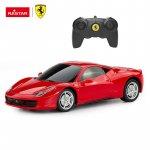 Masinuta cu telecomanda Ferrari 458 scara 1:24