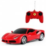 Masinta cu telecomanda Ferrari 488 GTB scara 1:24