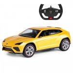 Masinuta cu telecomanda Lamborghini Urus galben scara 1:24