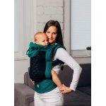 Marsupiu LennyGo Toddler Mesh Basic Line Emerald