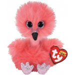 Plus flamingo cu gatul lung 15 cm Ty