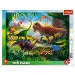 Puzzle Plana dinozauri 25 piese