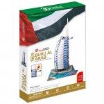 Puzzle 3D Burj al arab nivel complex 101 piese