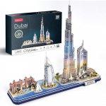 Puzzle 3D Led Dubai 182 piese