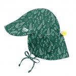 Palarie soare Green Fern SPF 50+ cu clapa si snur reglator Green Sprouts by iPlay 2T-4T