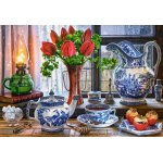 Puzzle Castorland Still Life with Tulips 1500 piese