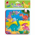 Puzzle magnetic Dino Roter Kafer