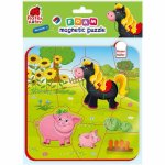 Puzzle magnetic Ferma calut si purcelusi Roter Kafer