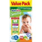Scutece Babylino Sensitive Economy N4+ 10-15 kg/46 buc