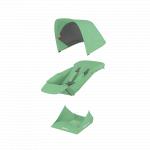 Set materiale textile Greentom Reversible Mint