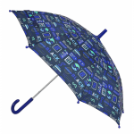 Umbrela ploaie baieti BlackFit8 Logos