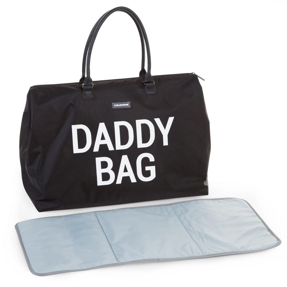 Geanta de infasat Childhome Daddy Bag Negru