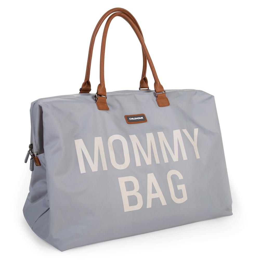 Geanta de infasat Childhome Mommy Bag Gri