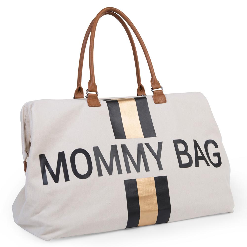 Geanta de infasat Childhome Mommy Bag Ivoire