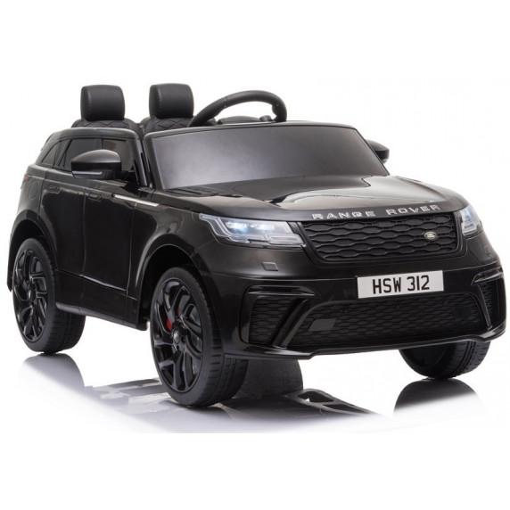 Masinuta electrica cu scaun de piele Range Rover Velar Black