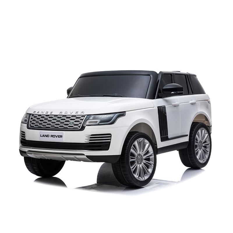 Masinuta electrica cu telecomanda Range Rover Vogue 12V 10Ah White