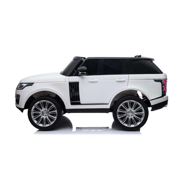 Masinuta electrica cu telecomanda Range Rover Vogue 12V 10Ah White - 4