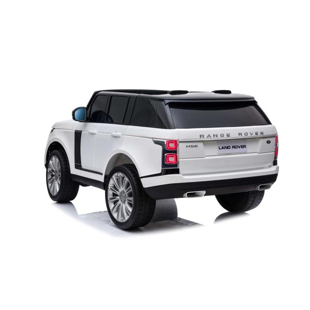Masinuta electrica cu telecomanda Range Rover Vogue 12V 10Ah White - 5