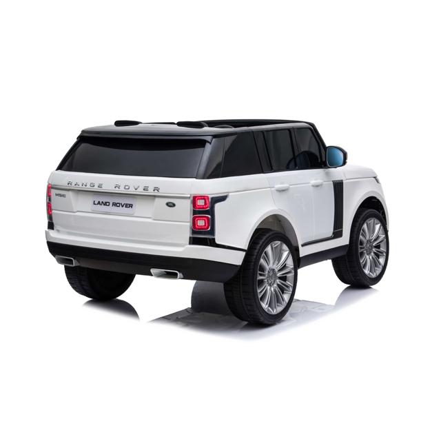 Masinuta electrica cu telecomanda Range Rover Vogue 12V 10Ah White - 6