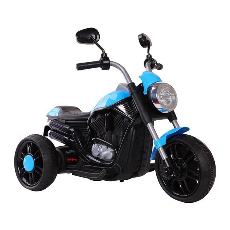 Motocicleta electrica KikkaBoo Chopper Blue