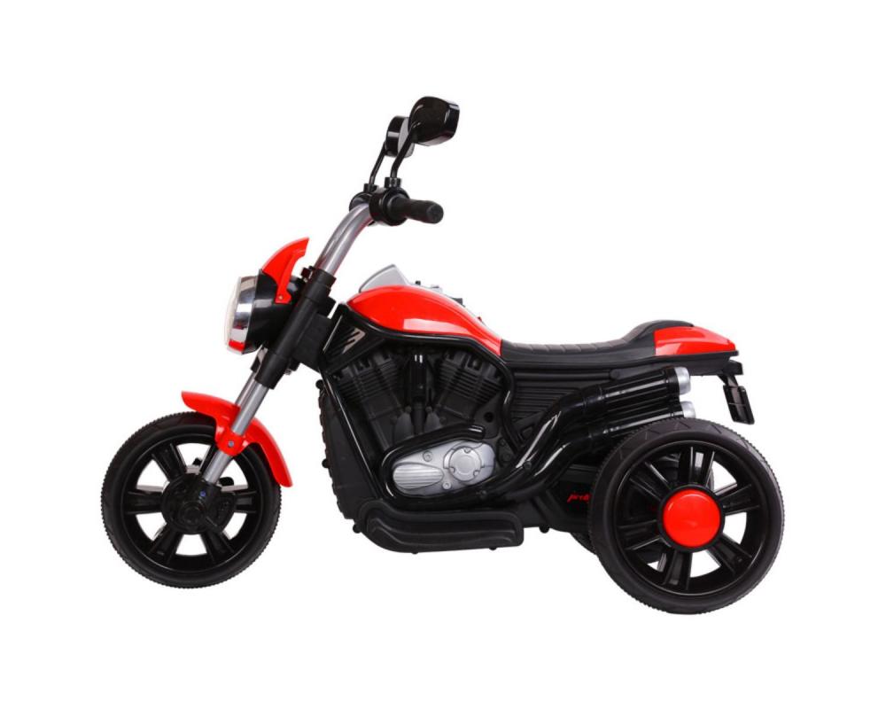 Motocicleta electrica KikkaBoo Chopper Red