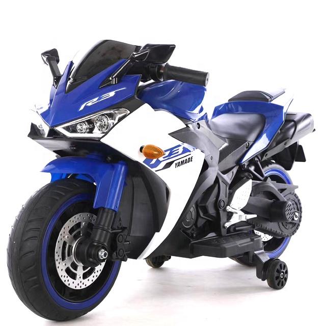 Motocicleta electrica cu scaun din piele Nichiduta Yamade Blue