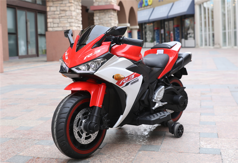 Motocicleta electrica cu scaun din piele Nichiduta Yamade Red