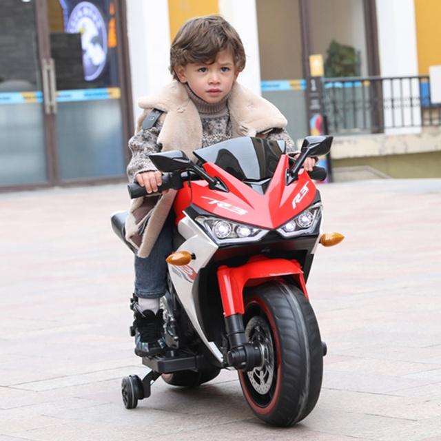 Motocicleta electrica cu scaun din piele Nichiduta Yamade Red - 3