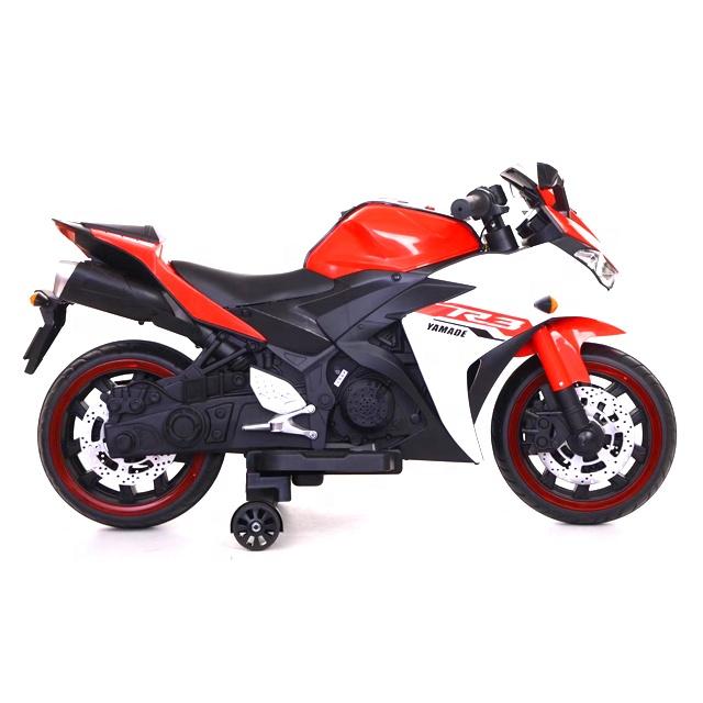Motocicleta electrica cu scaun din piele Nichiduta Yamade Red - 5