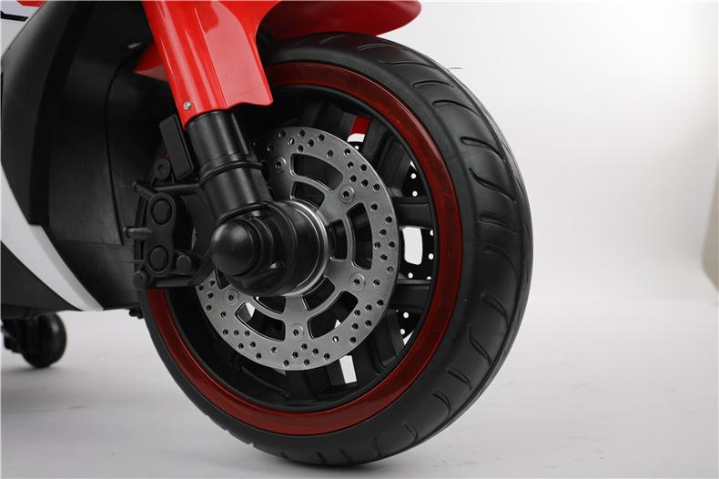 Motocicleta electrica cu scaun din piele Nichiduta Yamade Red - 6